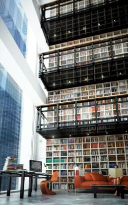 Interieur Artist Impressie Bibliotheek