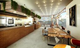 Interieur Artist Impressie Restaurant