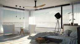 Interieur Artist Impressie slaapkamer